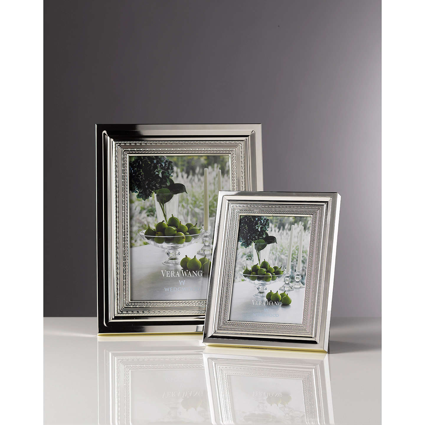 Vera Wang for Wedgwood With Love Photo Frame, Silver at John Lewis