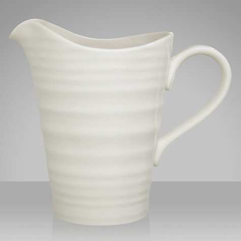 Buy Sophie Conran for Portmeirion Pitcher, White Online at johnlewis.com