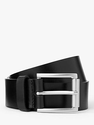 John Lewis & Partners Leather Belt