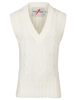 Gray-Nicolls Slipover Cricket Vest, Ivory