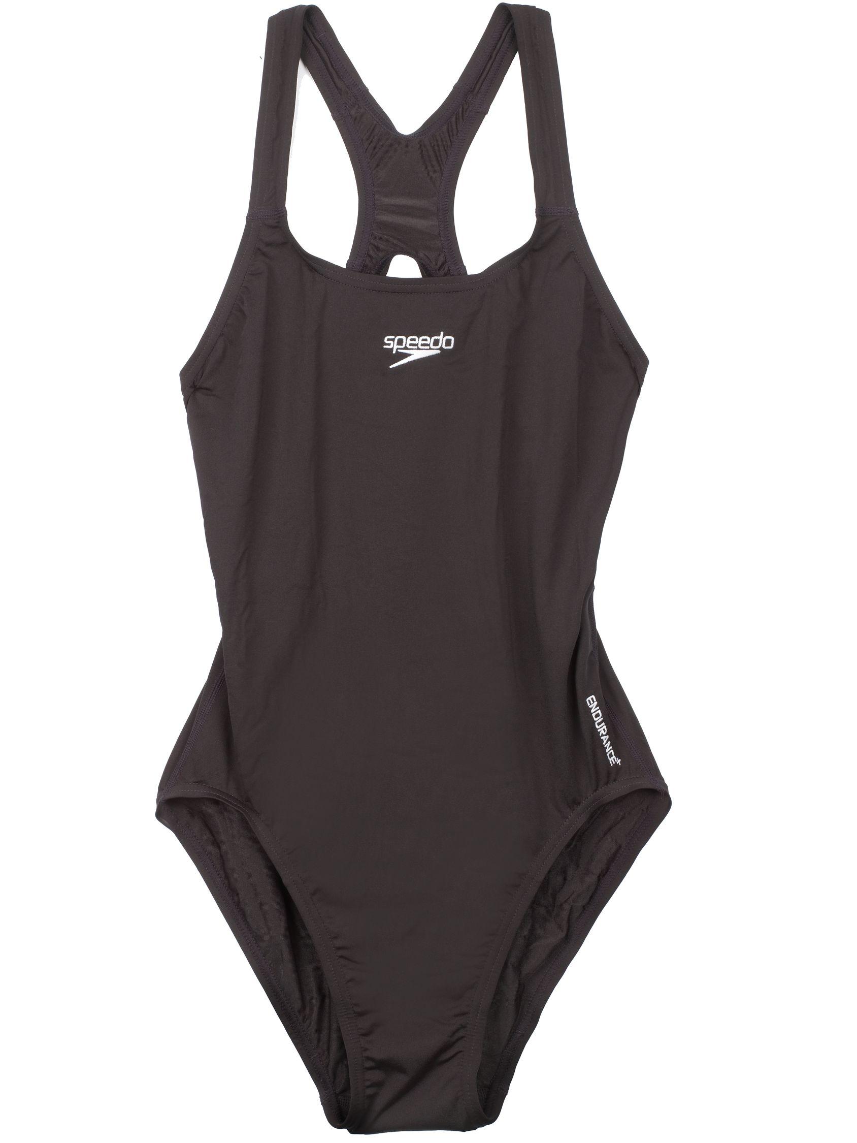 Speedo Speedo Girls' Medalist Swimsuit, Black