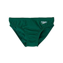 Buy Speedo Boys' Endurance Swim Briefs, Green Online at johnlewis.com