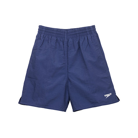 Buy Speedo Boys' Solid Leisure Water Shorts, Black Online at johnlewis.com