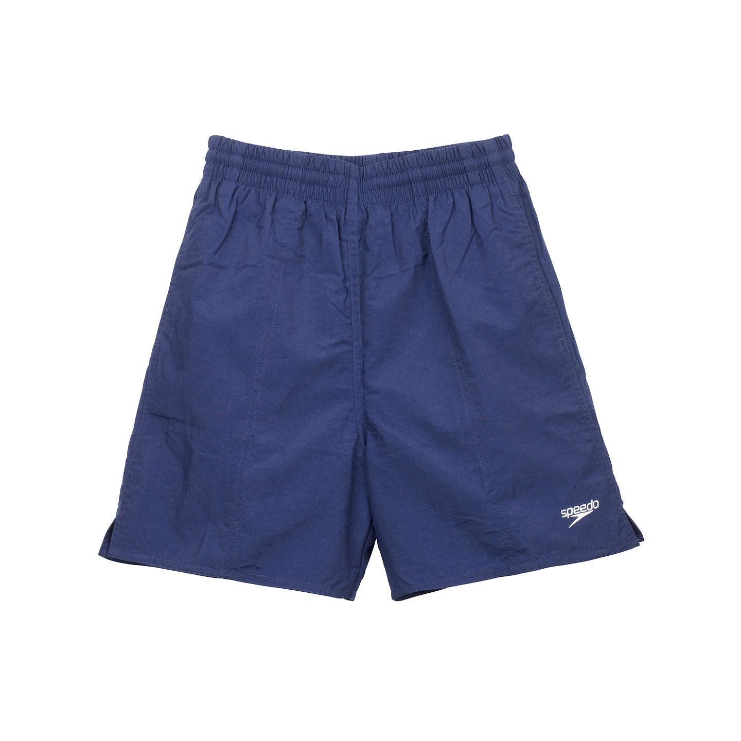 BuySpeedo Boys' Solid Leisure Water Shorts, Navy, S Online at johnlewis.com