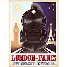 Buy Steve Forney - London-Paris Overnight Express Online at johnlewis.com