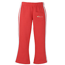 Buy Rainbows Uniform Jogging Trousers, Red Online at johnlewis.com