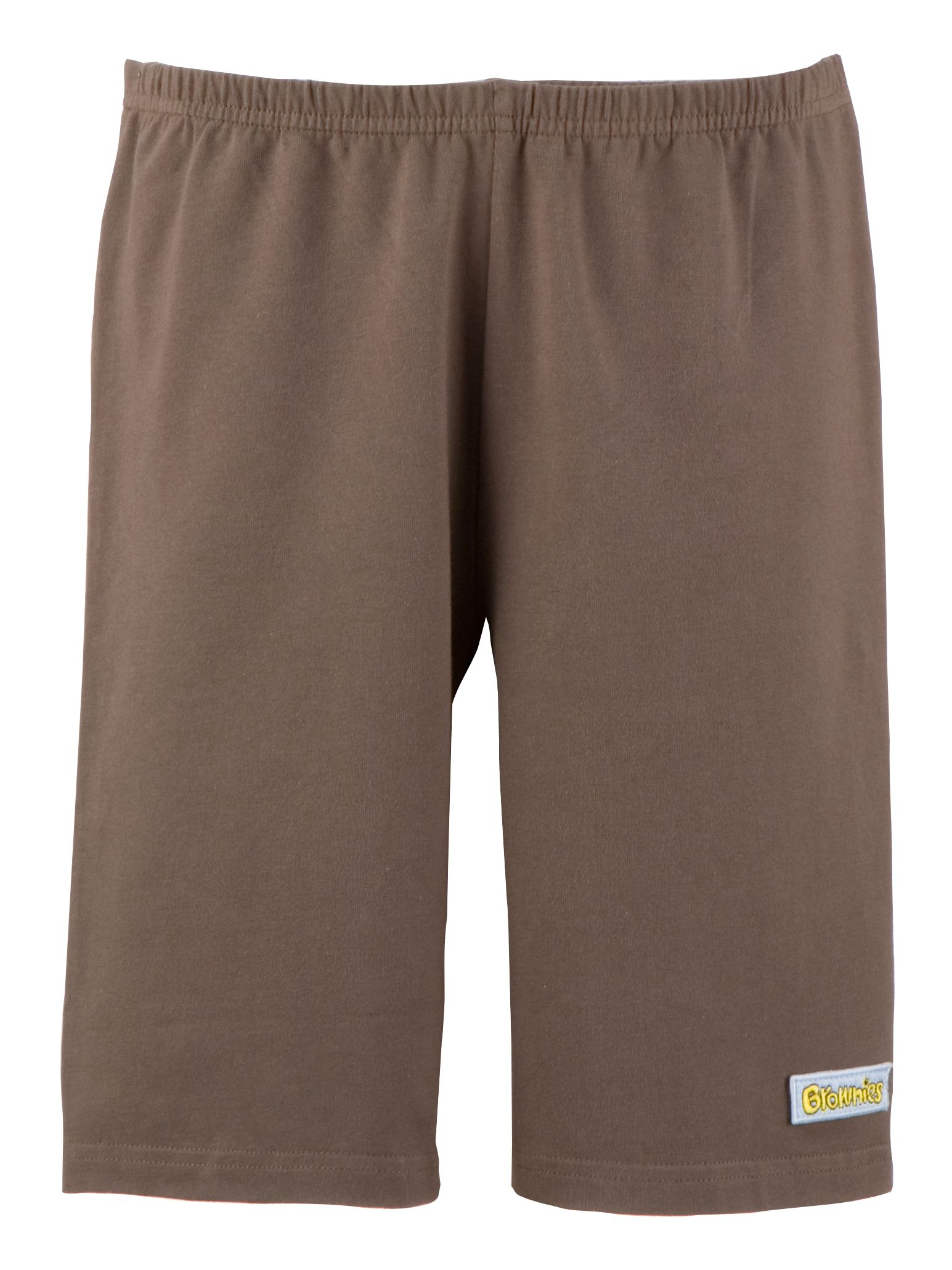 Brownies Brownies Uniform Cycle Shorts, Brown