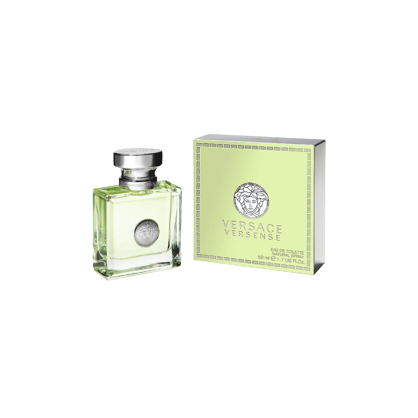 BuyVersace Versense Eau de Toilette, 50ml Online at johnlewis.com