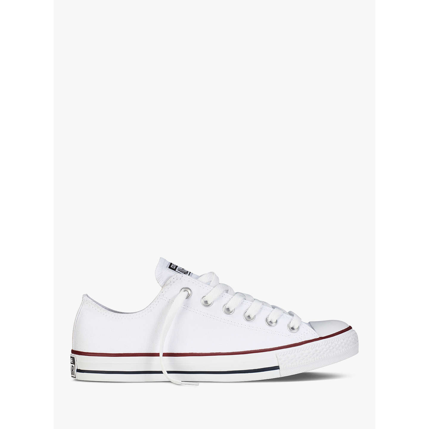 BuyConverse Chuck Taylor All Star Trainers, White, 4 Jnr Online at  johnlewis.com