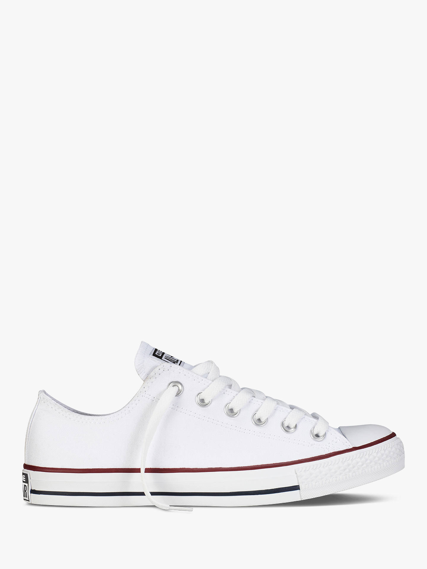 cheap for discount 588b5 ab064 Buy Converse Children s Chuck Taylor All Star Trainers, White, 4 Jnr Online  at johnlewis