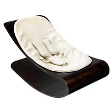 Buy bloom Coco Stylewood Baby Lounger, Cappuccino with Assorted Colours Online at johnlewis.com