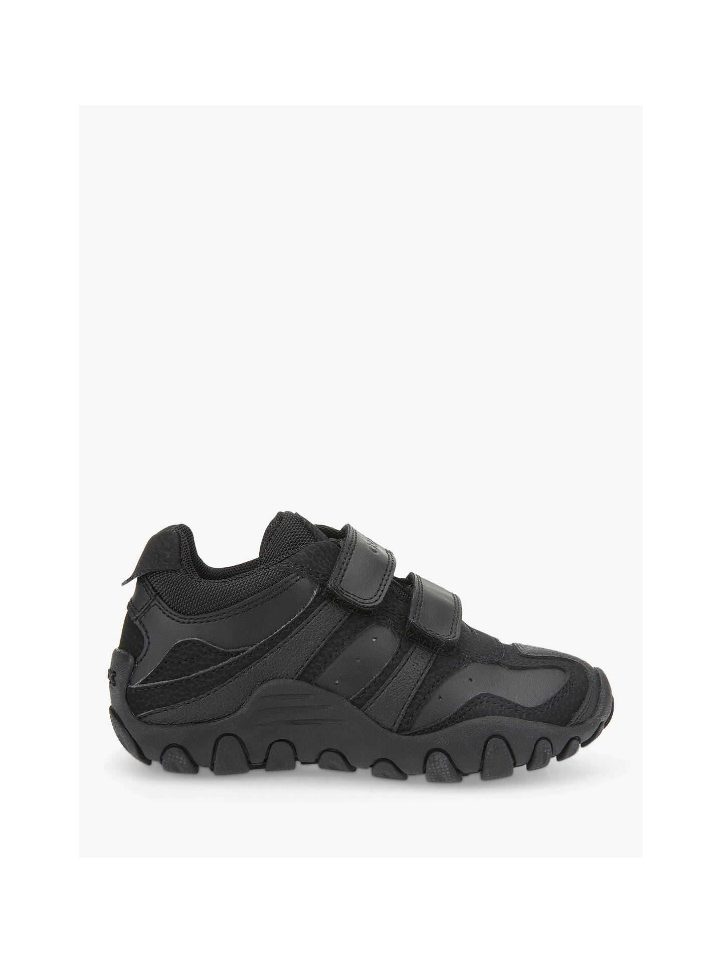 buy online 76398 f89dd Geox Children's Crush Trainers, Black at John Lewis & Partners
