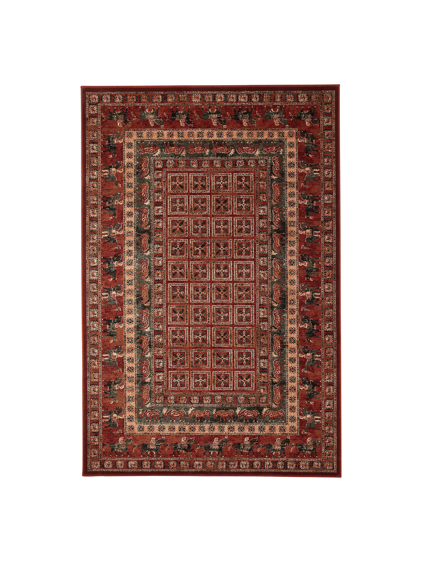 John Lewis Partners Royal Heritage Pazyrk Rugs Red At