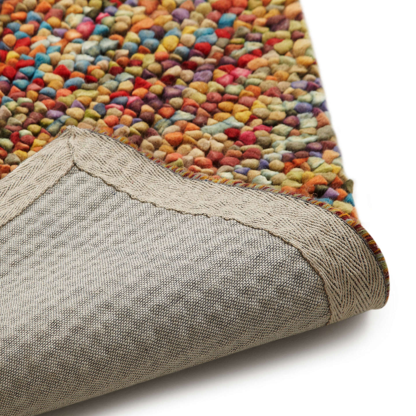 John Lewis Jelly Beans Rug Multicoloured L300xw200cm Online At Johnlewis Com