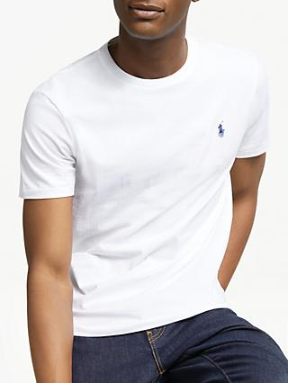 Polo Ralph Lauren Short Sleeve Custom Fit Crew Neck T-Shirt
