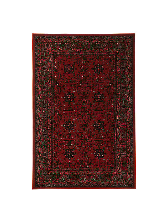 Buy John Lewis & Partners Royal Heritage Herati Rugs, Red, L160 x W80cm Online at johnlewis.com