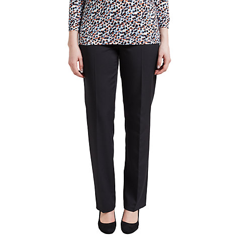Buy Gerry Weber Pamela Smart Trousers, Black Online at johnlewis.com