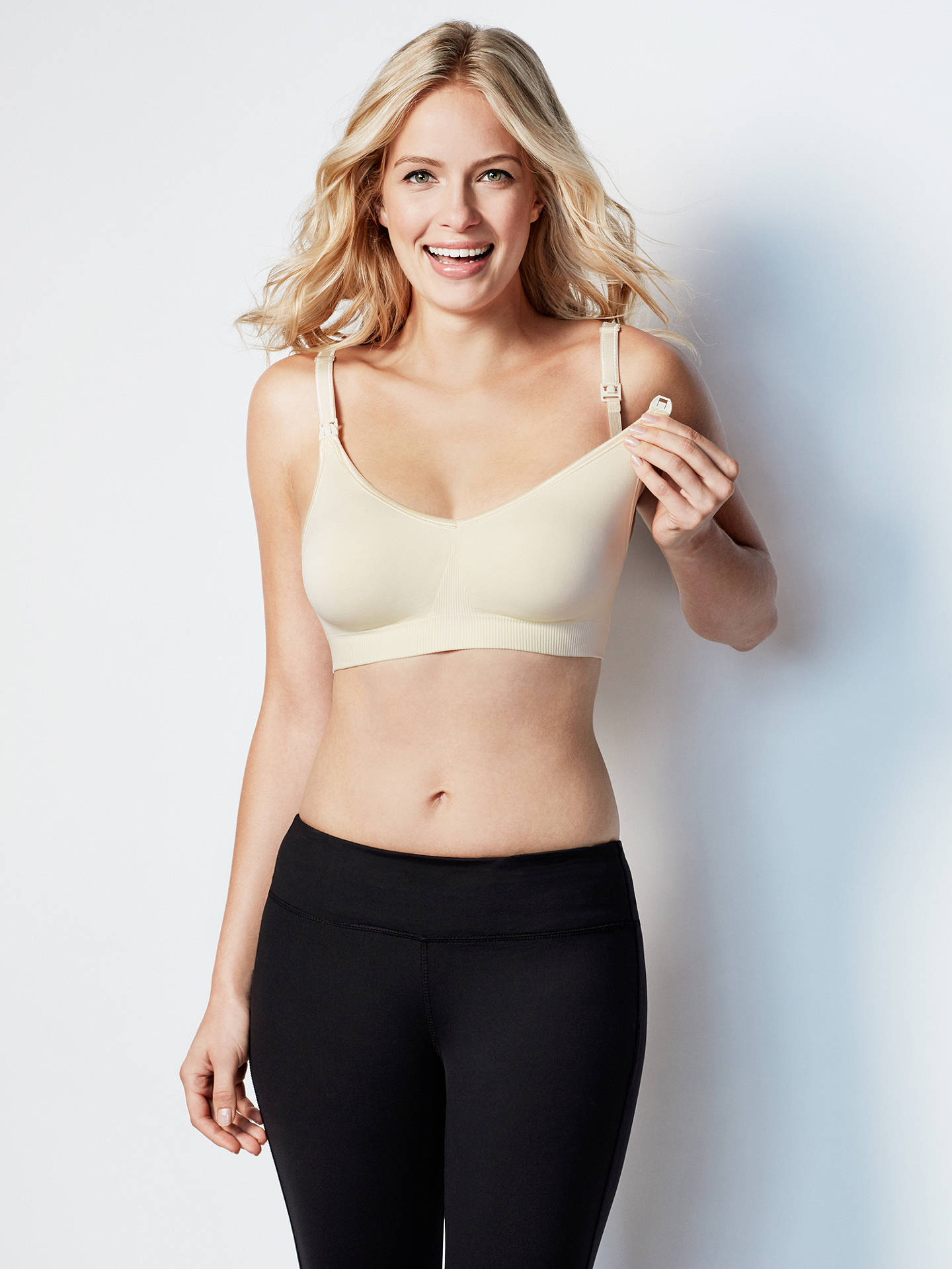 Buy Bravado Body Silk Seamless Nursing Bra, Ivory, S Online at johnlewis.com