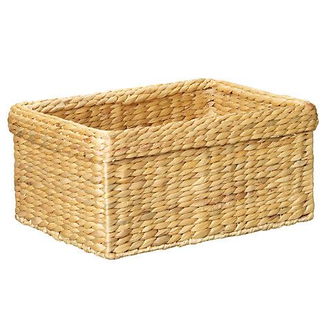 ... Buy John Lewis Water Hyacinth Basket Range Online at johnlewis.com ...