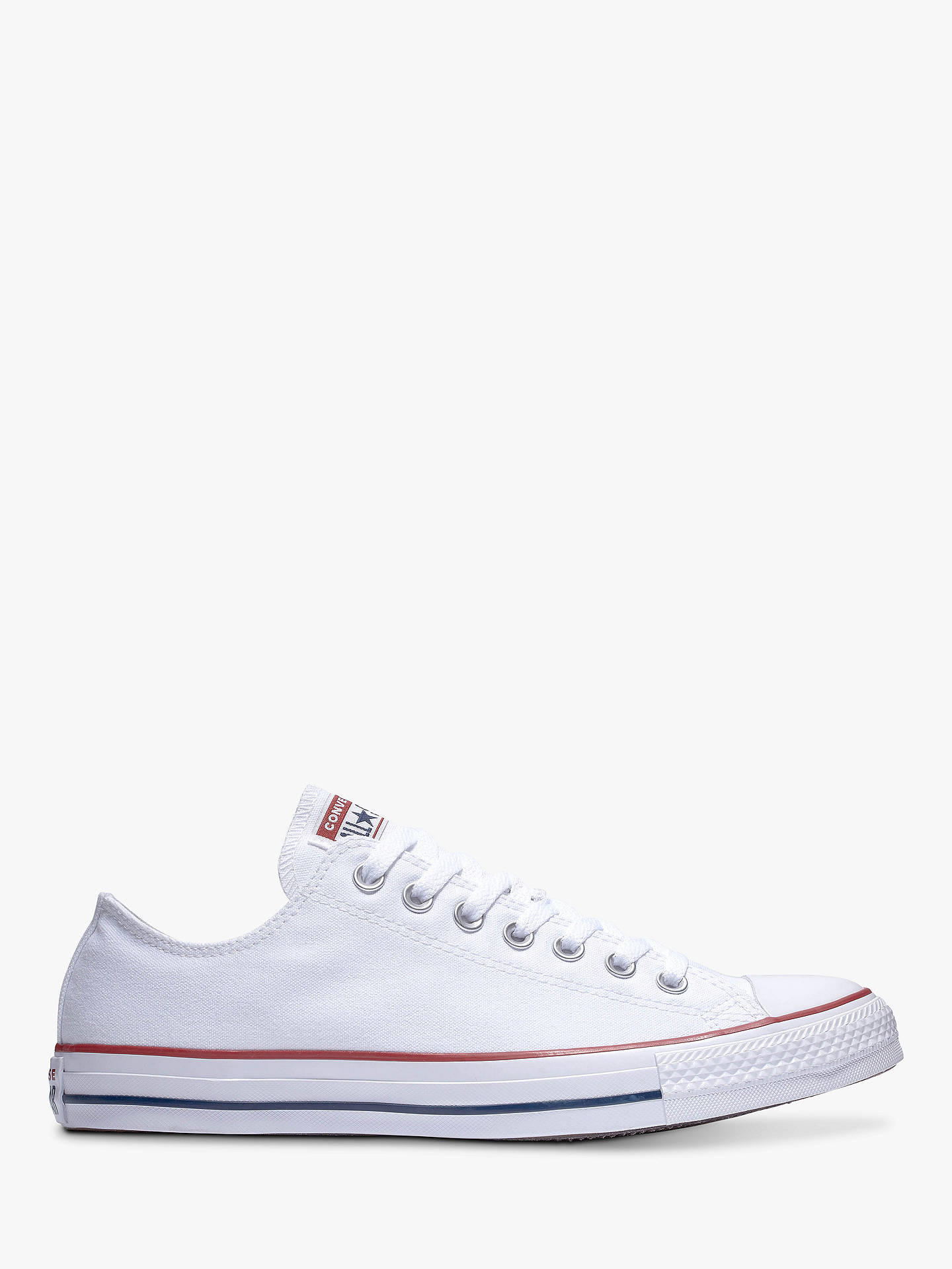 79126365ce0e Converse Chuck Taylor All Star Canvas Ox Low-Top Trainers at John ...