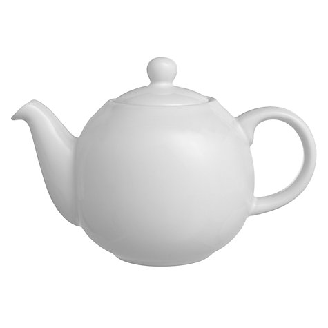 Buy London Pottery Teapot, White Online at johnlewis.com