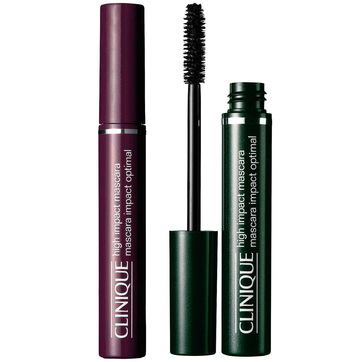 BuyClinique High Impact Mascara, Black Online at johnlewis.com