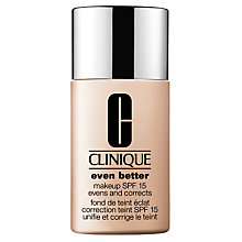 Buy Clinique Even Better Makeup SPF15 - Normal to Combination Oily Skin Types Online at johnlewis.com