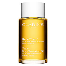 Buy Clarins Tonic Body Treatment Oil - Firming/Toning, 100ml Online at johnlewis.com