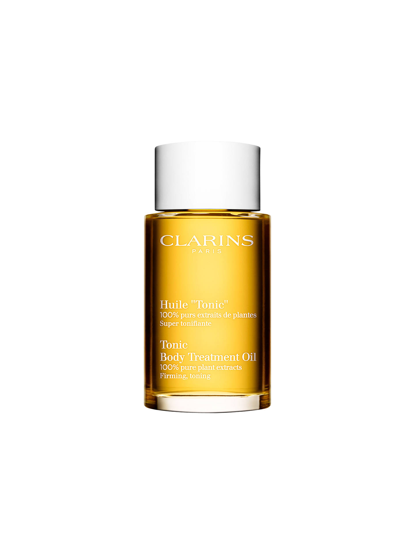 BuyClarins Tonic Body Treatment Oil - Firming/Toning, 100ml Online at johnlewis.com