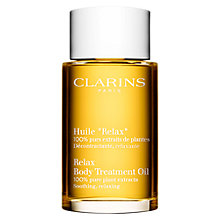 Buy Clarins Body Treatment Oil - Soothing/Relaxing Online at johnlewis.com