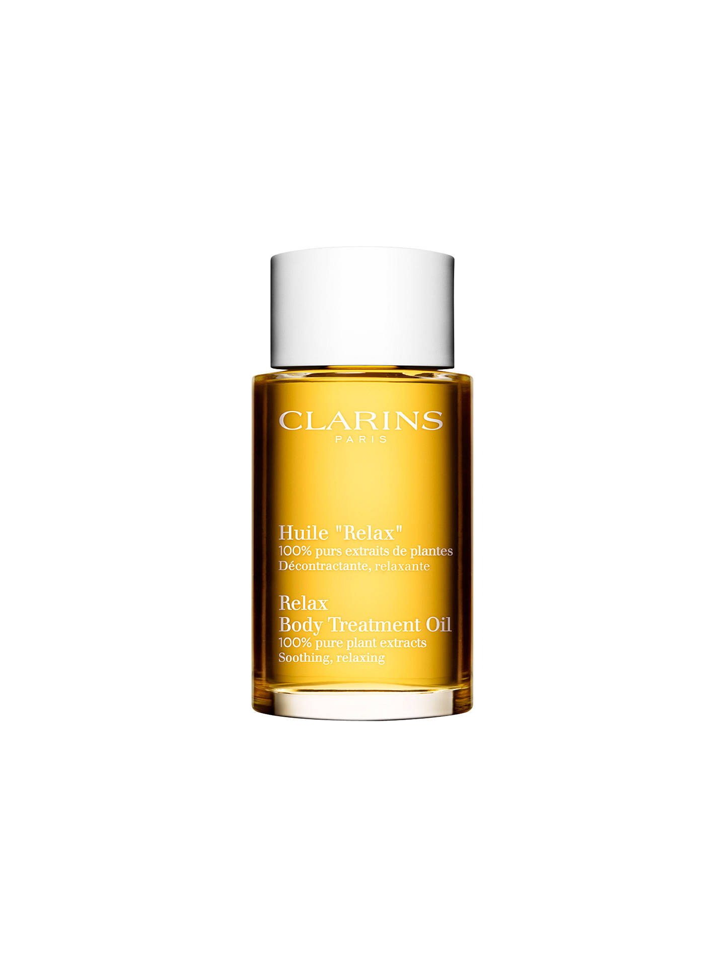 Buy Clarins Relax Body Treatment Oil - Soothing/Relaxing, 100ml Online at johnlewis.com