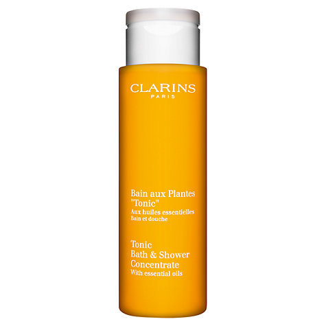 Buy Clarins Tonic Bath and Shower Concentrate, 200ml Online at johnlewis.com