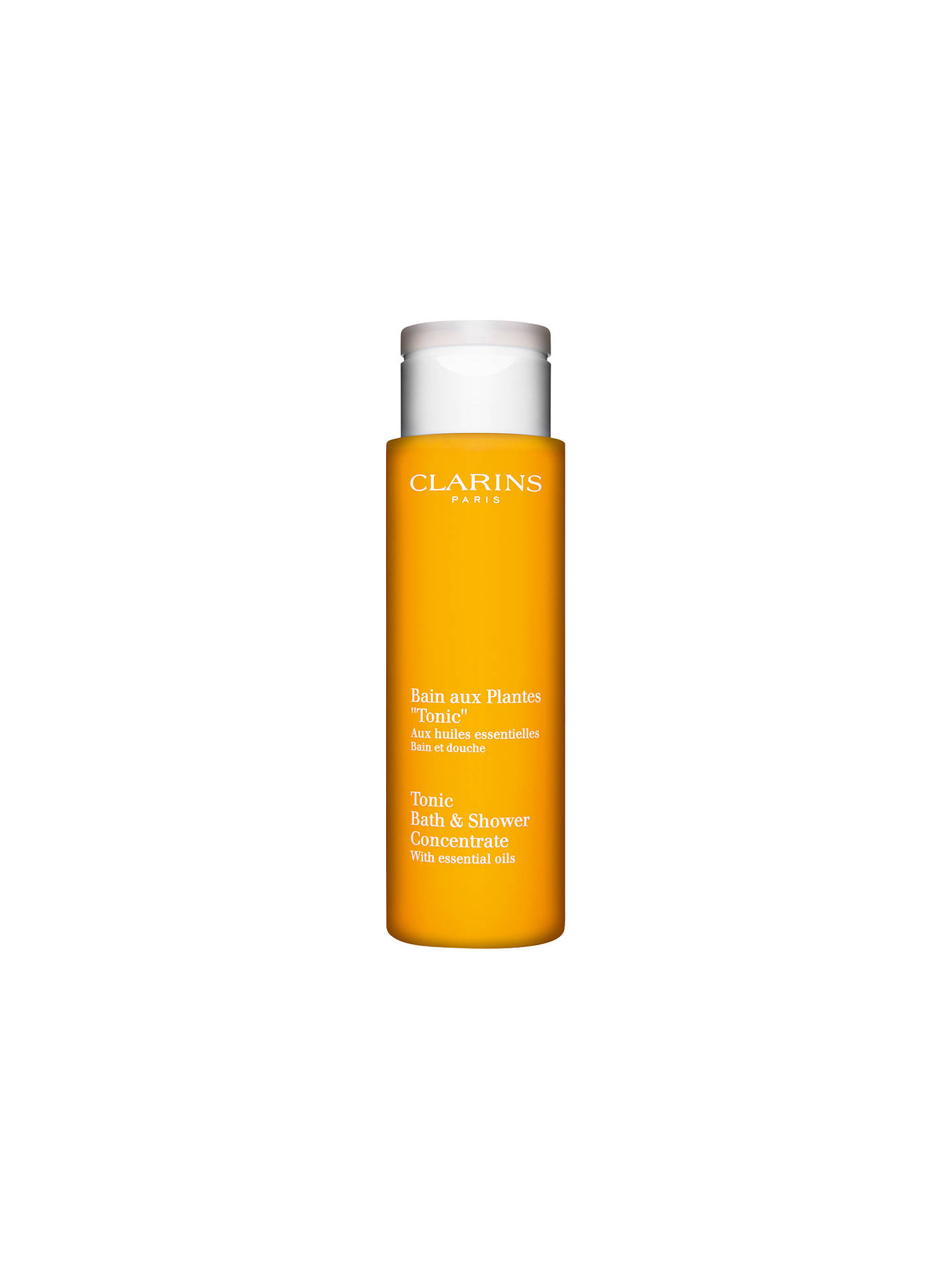 BuyClarins Tonic Bath and Shower Concentrate Bath Foam, 200ml Online at johnlewis.com