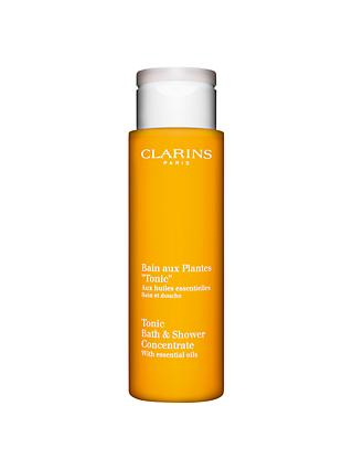 Clarins Tonic Bath and Shower Concentrate Bath Foam, 200ml