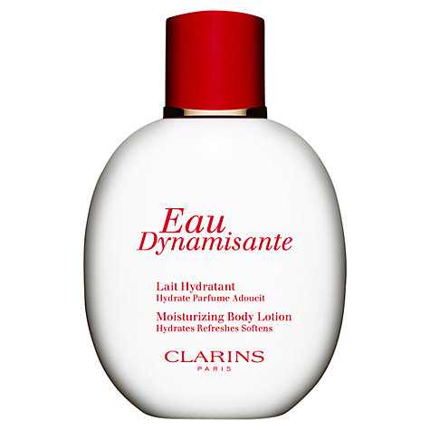 buy clarins eau dynamisante moisturizing body lotion john lewis. Black Bedroom Furniture Sets. Home Design Ideas