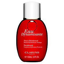 Buy Clarins Eau Dynamisante Fragranced Gentle Deodorant Online at johnlewis.com