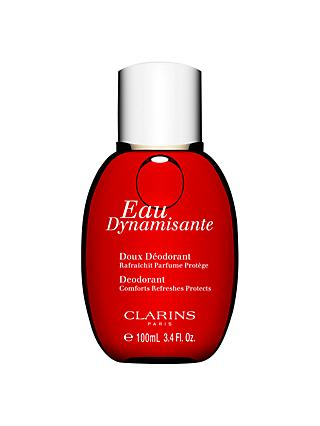 Clarins Eau Dynamisante Fragranced Gentle Deodorant, 100ml