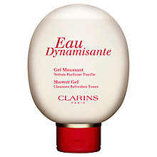 Buy Clarins Eau Dynamisante Shower Gel Online at johnlewis.com