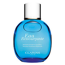 Buy Clarins Eau Ressourçante Spray, 100ml Online at johnlewis.com