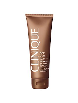 Clinique Body Daily Moisturizer, Light-Medium, 125ml