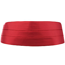 Buy John Lewis Silk Cummerbund, One Size Online at johnlewis.com