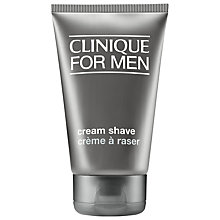 Buy Clinique Cream Shave, 125ml Online at johnlewis.com