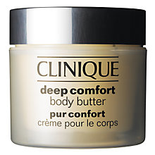 Buy Clinique Deep Comfort Body Butter, 200ml Online at johnlewis.com
