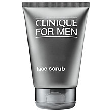 Buy Clinique For Men Face Scrub, 100ml Online at johnlewis.com
