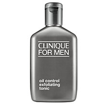 Buy Clinique For Men Oil Control Exfoliating Tonic Normal/Oily Skin, 200ml Online at johnlewis.com