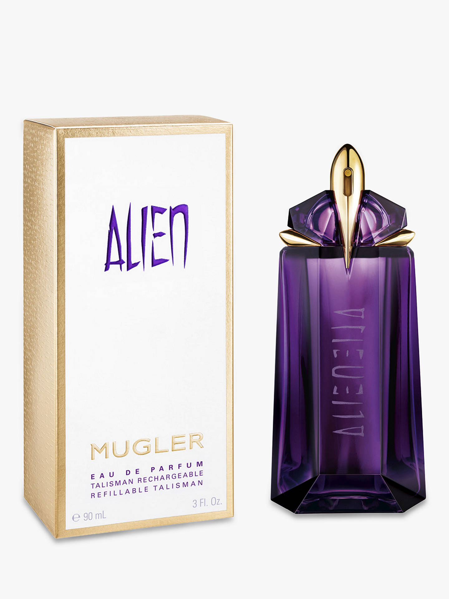 Buy Mugler Alien Eau de Parfum Natural Spray Refillable, 90ml Online at johnlewis.com