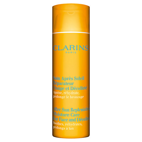 Buy Clarins After Sun Replenishing Moisture Care for Face & Décolleté Online at johnlewis.com