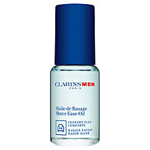 Buy ClarinsMen Shave Ease Two-in-One Oil, 15ml Online at johnlewis.com