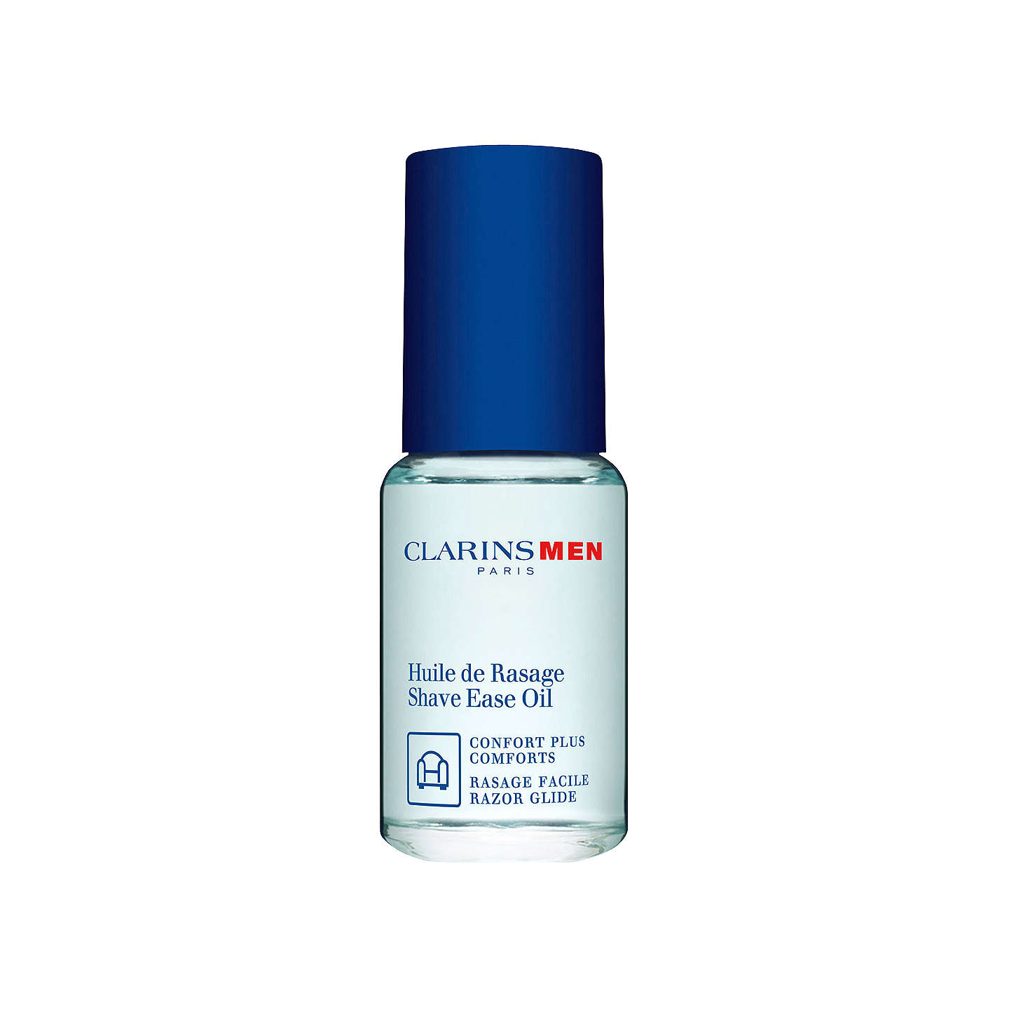 BuyClarinsMen Shave Ease Two-in-One Oil, 15ml Online at johnlewis.com