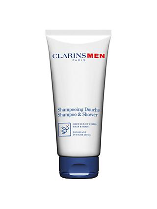 Clarins Men Total Shampoo Hair and Body, 200ml